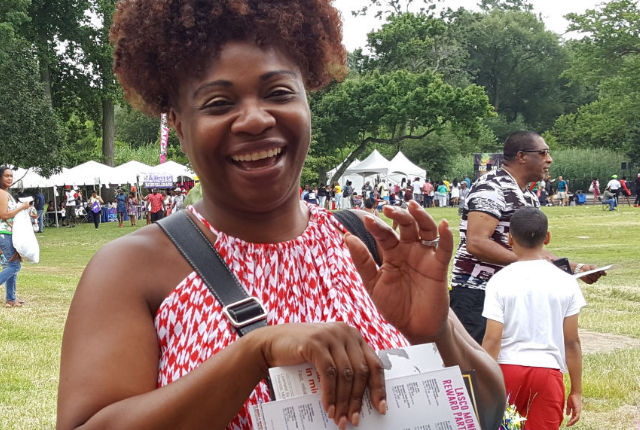 Sany Skincare at Jamaican Jerk Festival